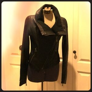 Doma woman's leather jacket size medium.